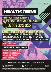 Health for teens flyer3