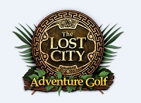 Lost city of golf logo